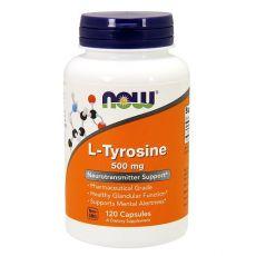 фото-L-Tyrosine-now-120-Capsules