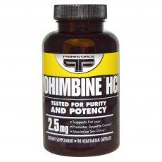 Йохимбина гидрохлорид 90 капсул по 2,5 мг