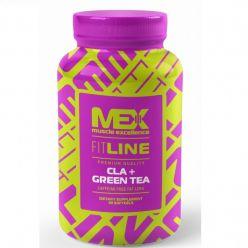 MEX CLA + GREEN TEA 90 гелиевых капсул